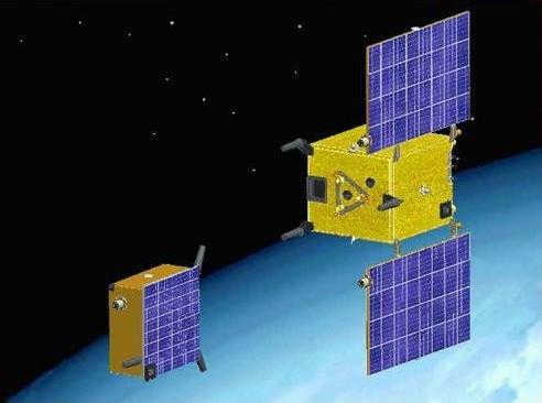 Les 2 satellites de Prisma