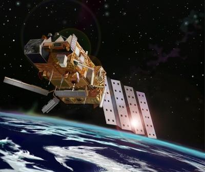 IASI aboard the european MetOp satellite. Crédits Esa