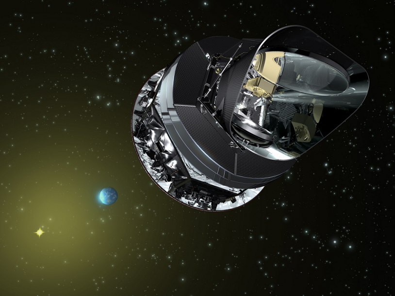 The Planck spacecraft was launched with Herschel on 14 May 2009. Credits: ESA.