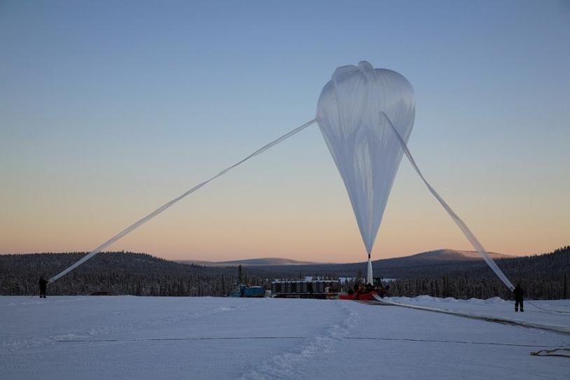 6 scientific flights are scheduled this year from Kiruna. Credits: CNES/A. DERAMECOURT.