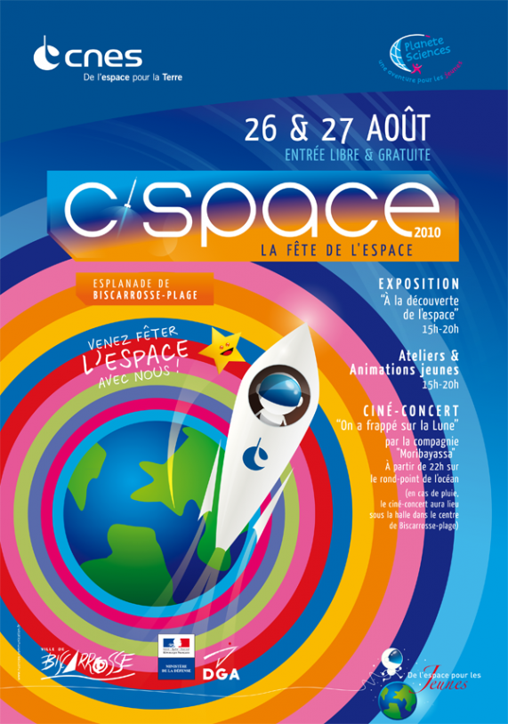 This year's space festival will take place on 26-27 August. Credits: CNES.
