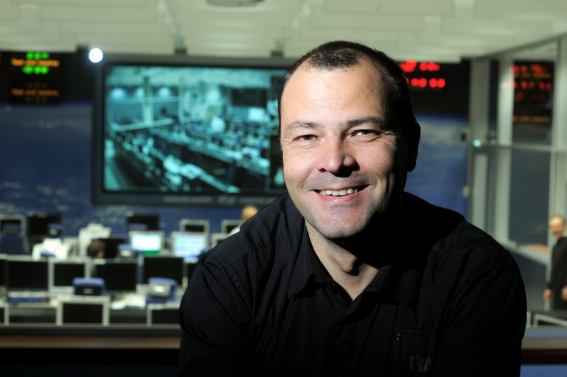 Martial Vanhove, responsable technique ATV 2, CNES. Crédits : CNES/E. Grimault.