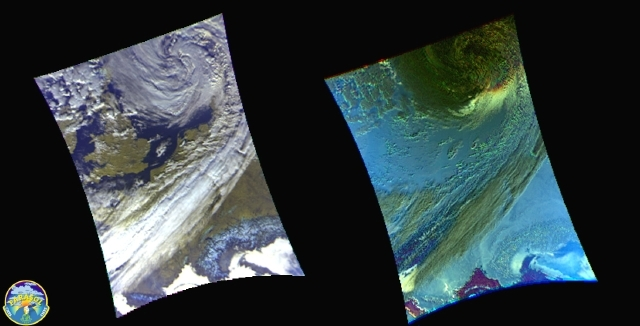 Parasol satellite images (click to enlarge). Credits: CNES.