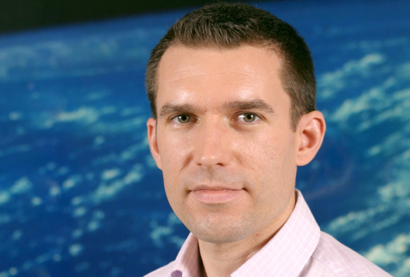 Steven Hosford, in charge of Solid Earth programmes at CNES. Credits: CNES/C. Dupont.