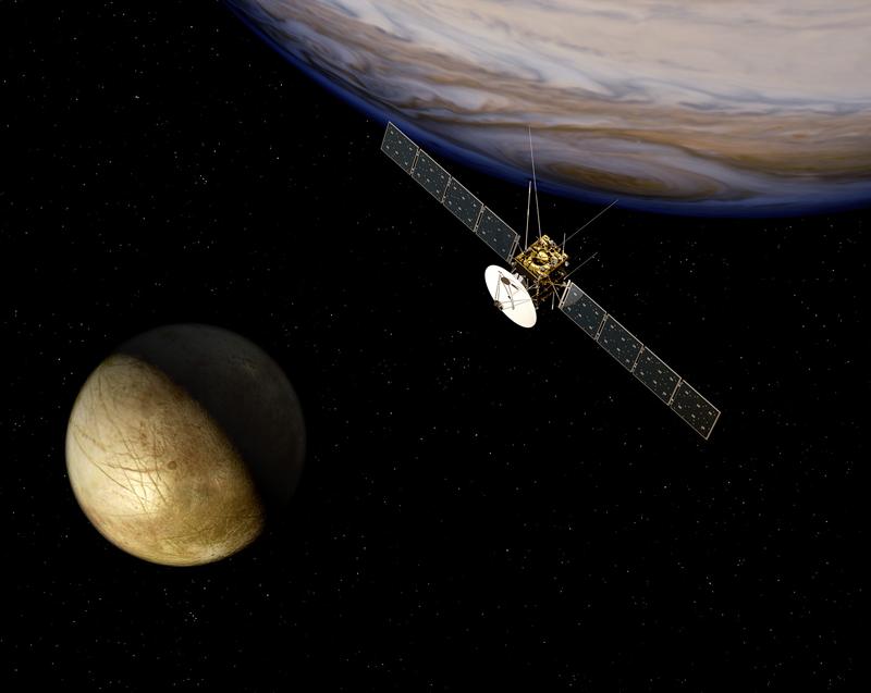 La sonde JUICE atteindra Jupiter en 2030. Crédits : ESA/AOES.